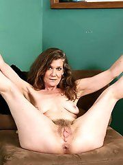 Awesome mature strumpets playing alone