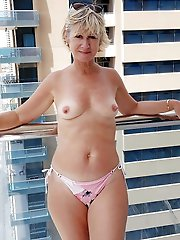 Leaking mature ladies exposing their hot curves on cam