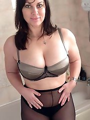 Unbelievable mature cougars with huge melons