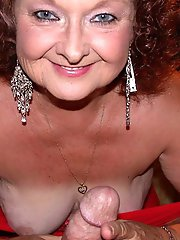 Lascivious mature cutie roughly drilled