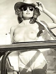 Sensational aged dame posing undressed